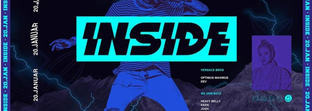 Sa. 20.01. INSIDE – District One – HipHop, Black & more
