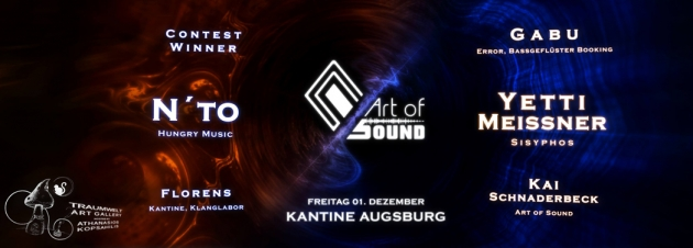 Fr. 01.12. Art of Sound mit N'to & Yetti Meißner