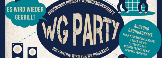 Fr. 04.09.2015 WG Party
