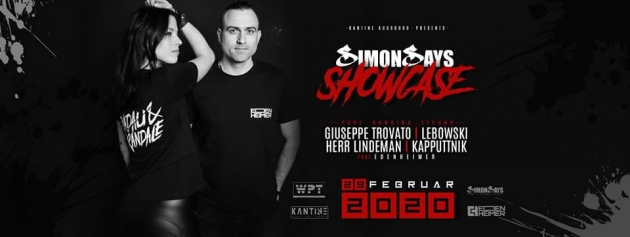 Sa. 29.02.20 Simon Says Showcase