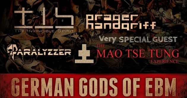 Sa. 08.02.20 German Gods of EBM: The Invincible Spirit + Tyske Ludder + Prager Handgriff + DJs